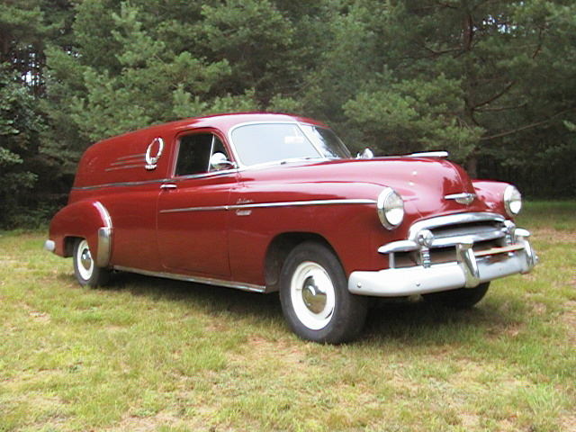Completed Work: 1950 Chevrolet Sedan Delivery